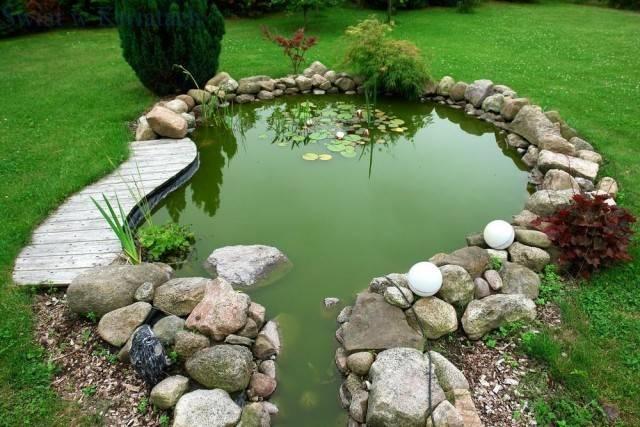 jak zrobić oczko wodne w ogrodzie