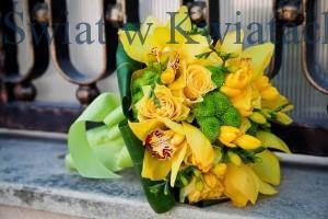 kwiatowych bukiet