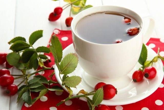 Herbatka z dzikiej róży